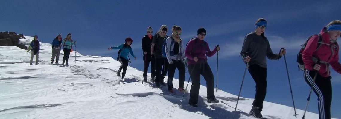 Randonnée à ski au Maroc
