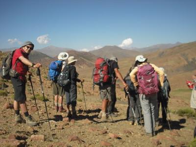 Randonnée «La grande traversée du Mgoun au Toubkal»