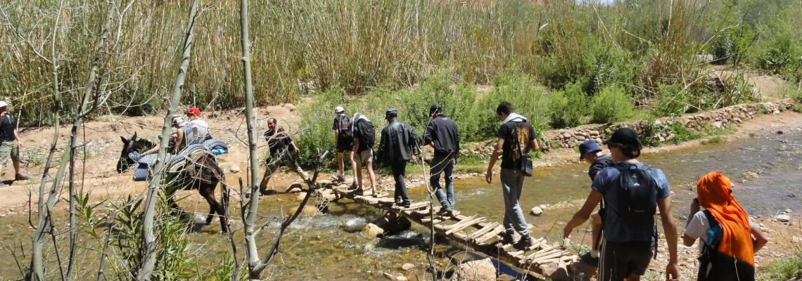 Randonnée muletière au Maroc