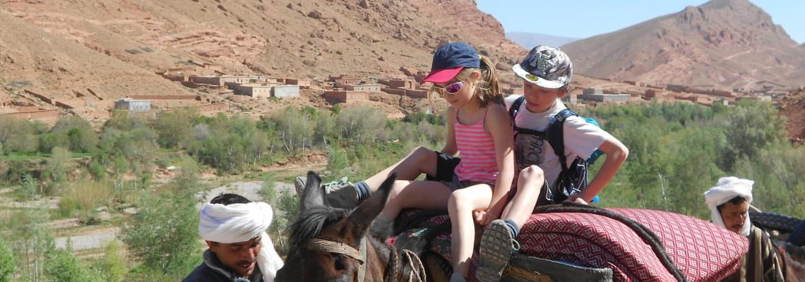 Randonnée muletière au Toubkal, Maroc
